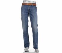 Herren Jeans Stone Modern Fit Baumwoll-Stretch blau