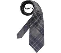 Herren Krawatte  blau