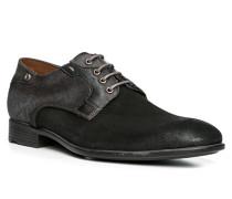 Herren Schuhe DAYAN Veloursleder-Textil schwarz