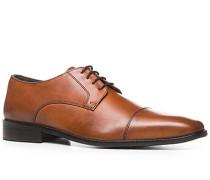 Herren Schnürschuhe Leder cognac braun,grau,schwarz