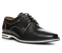 Herren Schuhe Derby, Kalbleder, schwarz