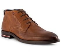 Schuhe Desert Boots Leder cognac