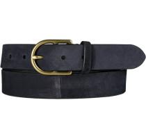 Herren Gürtel dunkelblau, Breite ca. 3 cm