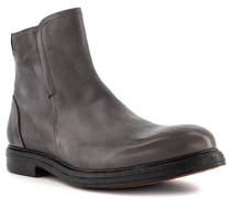 Schuhe Chelsea Boots Leder grigio