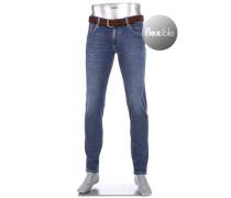 Jeans Slim Slim Fit Baumwoll-Stretch 10oz jeans