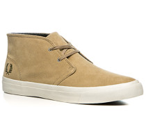 Herren Schuhe Desert Boots Veloursleder beige beige,grau