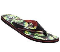 Schuhe Zehensandalen Textil multicolour