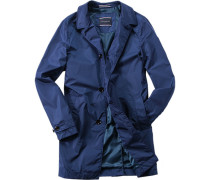 Herren Mantel Nylon dunkelblau
