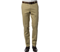 Herren Hose Slim Fit Baumwoll-Stretch