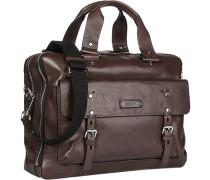 Herren   Business-Tasche Rindleder braun