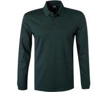 Polo-Shirt Regular Fit Baumwoll-Jersey