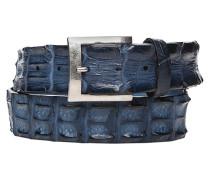 Herren Gürtel navy, Breite ca. 4 cm blau