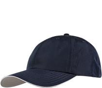 Herren Cap Microfaser navy