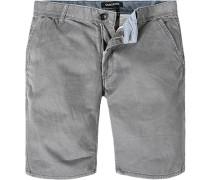 Herren Hose Shorts Straight Fit Baumwolle