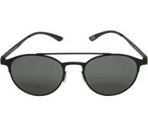 Herren Brillen adidas, Sonnenbrille, Metall, schwarz