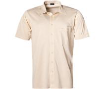 Herren Hemd Jersey sand beige