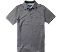 Herren Polo-Shirt Baumwoll-Piqué meliert