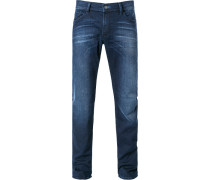 Herren Jeans, Baumwolle, denim blau