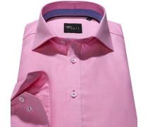 Herren Hemd Slim Fit Chambray rosa