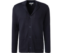 Cardigan Wolle navy