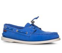 Herren Bootsschuhe, Neopren wasserdicht, royal blau