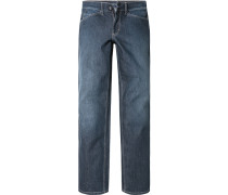 Jeans Tramper Slim Fit Baumwoll-Stretch navy