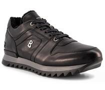 Schuhe Sneaker Leder Lammfell gefüttert