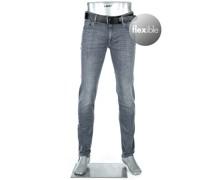 Jeans Slim Slim Fit Baumwolle T400® 10oz