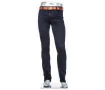 Herren Jeans Pipe, Regular Slim Fit, Baumwoll-Stretch T400®, dunkelblau
