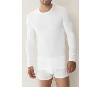 Herren 'Pureness' RH-Shirt Micro-Modal-Elasthan schwarz