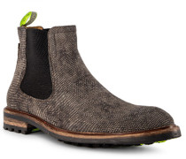 Schuhe Chelsea Boots Kalbleder  gemustert