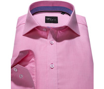 Hemd Slim Fit Chambray rosa