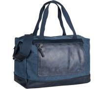 Herren Reisetasche, Canvas, blau