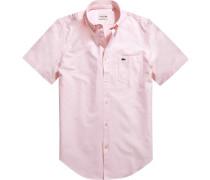 Herren Hemd, Regular Fit, Baumwolle, rosa