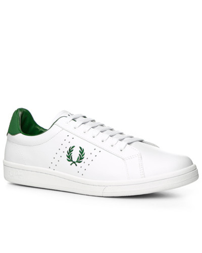 Fred Perry Herren Schuhe Sneaker, Leder Ortholite®