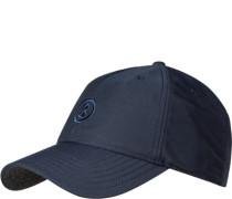 Herren Cap, Microfaser, navy blau