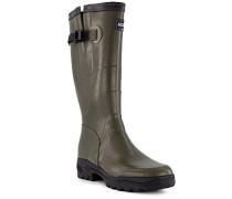 Schuhe Gummistiefel Dartan, Naturkautschuk, khaki
