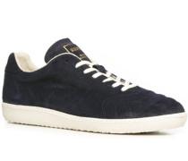 Herren Schuhe Sneaker Veloursleder navy