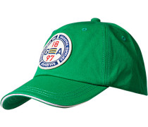 Herren   Cap Baumwolle hellgrün