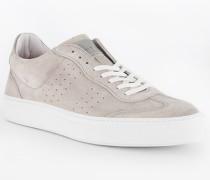 Schuhe Sneaker, Veloursleder, grigio