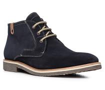 Herren Schuhe SPEED Veloursleder blau