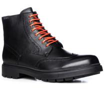 Herren Schuhe Schnürstiefeletten Leder GORE-TEX® schwarz