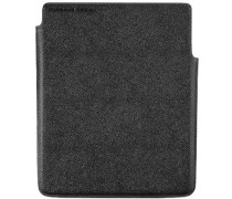 Herren   Tablet-Etui Leder schwarz