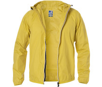 Regenjacke Regular Fit Mikrofaser wasserdicht