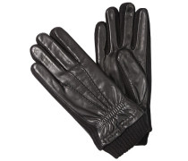 Herren Handschuhe, Ziegennappa, schwarz