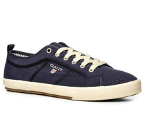 Herren Schuhe Sneaker, Neopren, navy blau