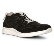 Herren Schuhe ALDO Veloursleder schwarz