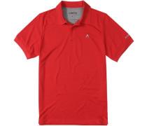 Herren Polo-Shirt, Coolmax®, rot