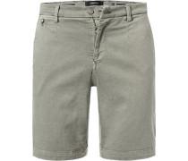 Hose Shorts, Baumwolle HYPERFLEX, khaki