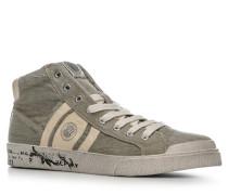 Herren Schuhe Sneaker Baumwolle greige beige